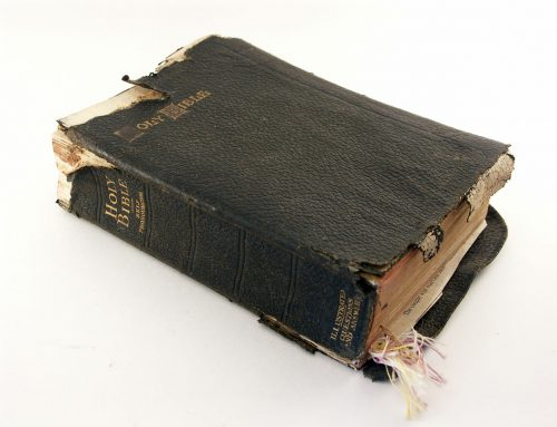 A Bible That's Falling Apart Usually Belongs To Someone Who's Not